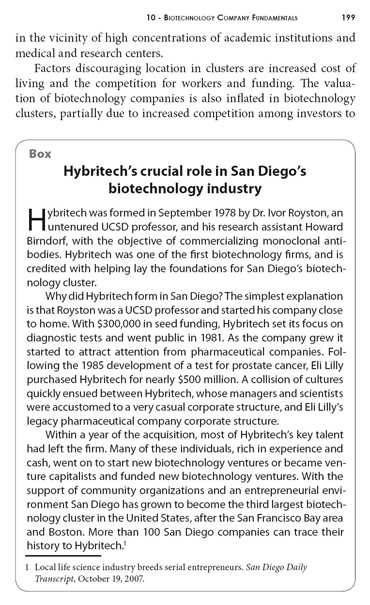 Creative Destruction: Hybritech's role in building the San Diego Biotechnology Cluster