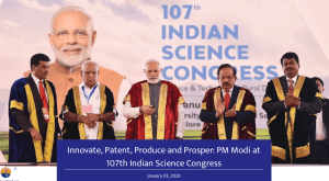 PM Modi at India Science Congress (2020)